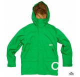clwr clwr jacket turf green