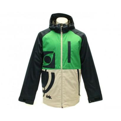 nomis true icon jacket navy grey green