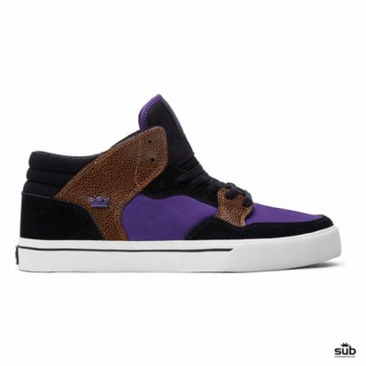 supra shotgun black purple white