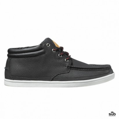dvs hunt snow black grey snow