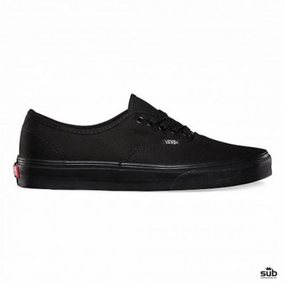 vans authentic black black