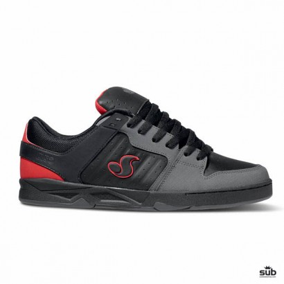 dvs argon black gunny leather