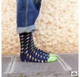 wams blue birds socks