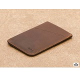 bellroy card wallet sleeve cocoa