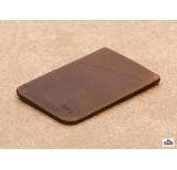 bellroy card wallet sleeve cocoa