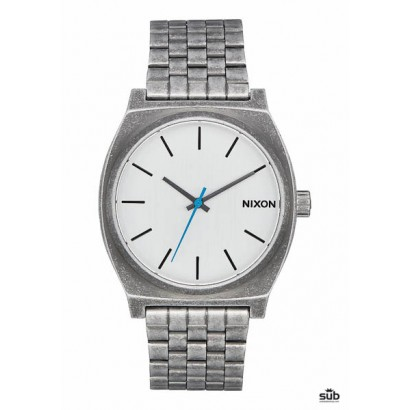 nixon time teller silver antique