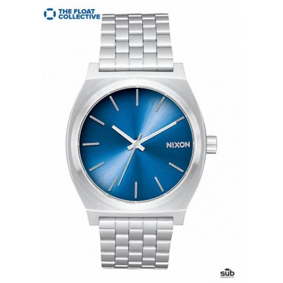 nixon time teller blue float