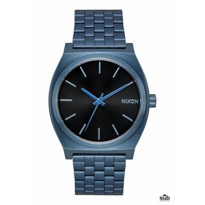 nixon time teller all blue black sunray
