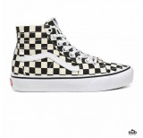 vans sk8-hi checkerboard tapered black white