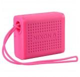 nixon mini blaster multi pair bluetooth speaker pink