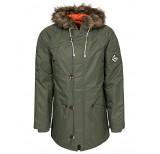 vans jt hetch jacket green