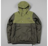 the north face rage anorak black ink green