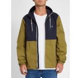 volcom howard hooded jacket dka